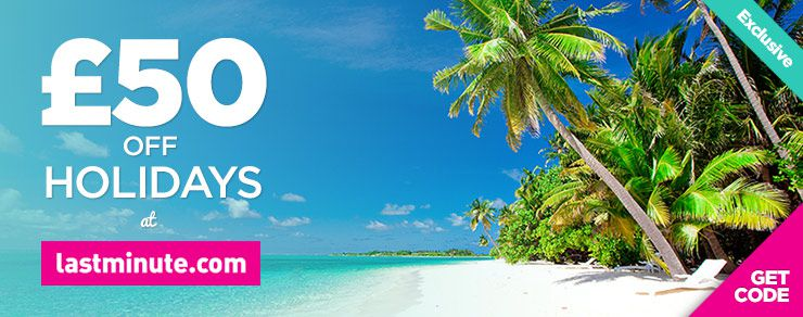 £50 off holidays