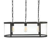 Cadogan 3 Light Pendant Lamp - Charcoal