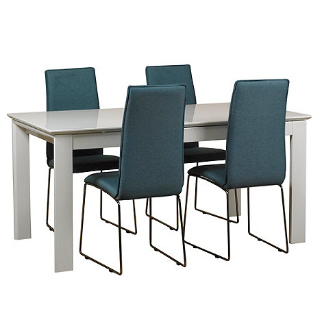 extendable dining table debenhams collections