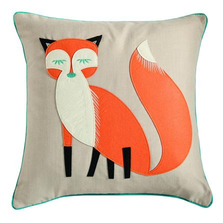 Felt Fox Cushion