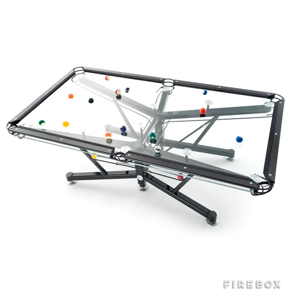 G-1 Glass Pool Table