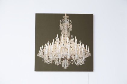 Grand Chandelier Glo Canvas