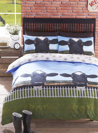 Holy Cow Bedding Set