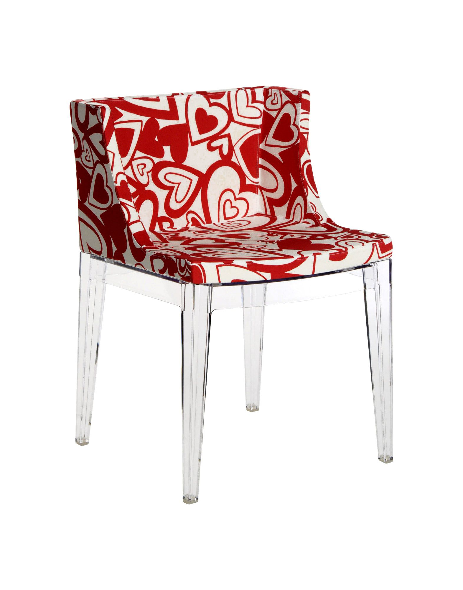 Funky dining chairs and stools for contemporary dining rooms - Chaise transparente kartell ...