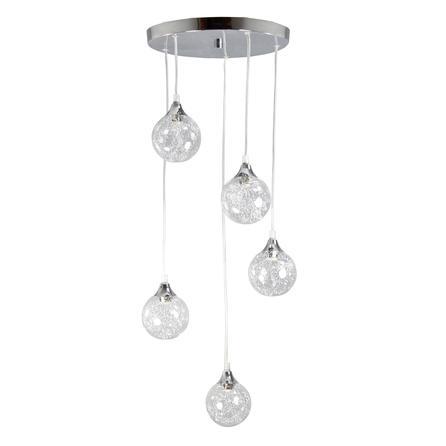 magneto 5 light drop fitting from dunelm. Black Bedroom Furniture Sets. Home Design Ideas