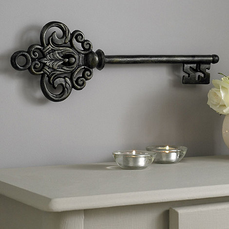 Metallic Castle Key Wall Art by Graham & Brown