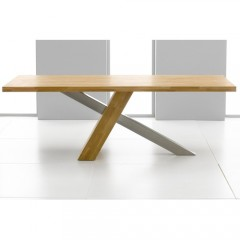 Montana Solid Oak 225cm Dining Table