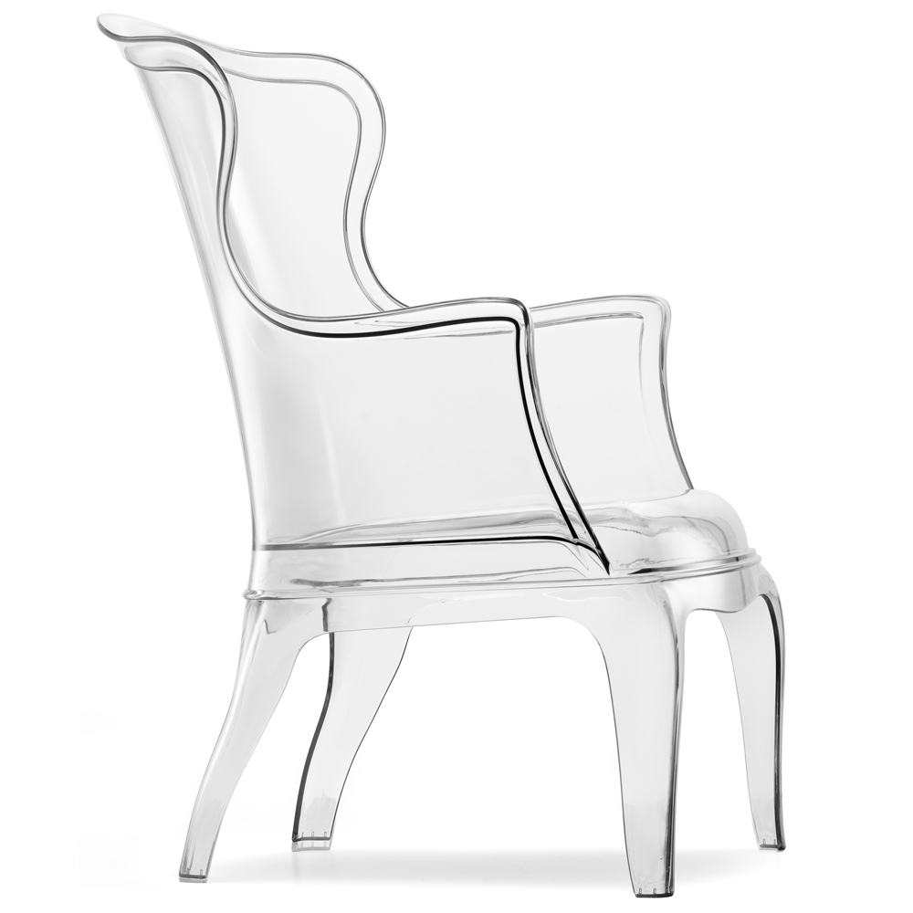 Funky chairs and unique stools to park your bum on : pasha chair in transparent 416 from funkyinteriors.com size 1000 x 1000 jpeg 127kB