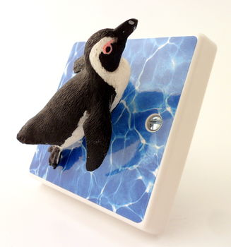 Penguin Bedroom Light Switch