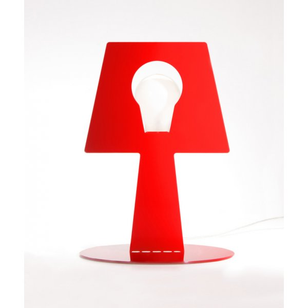 Robot Red Bendino Lamp