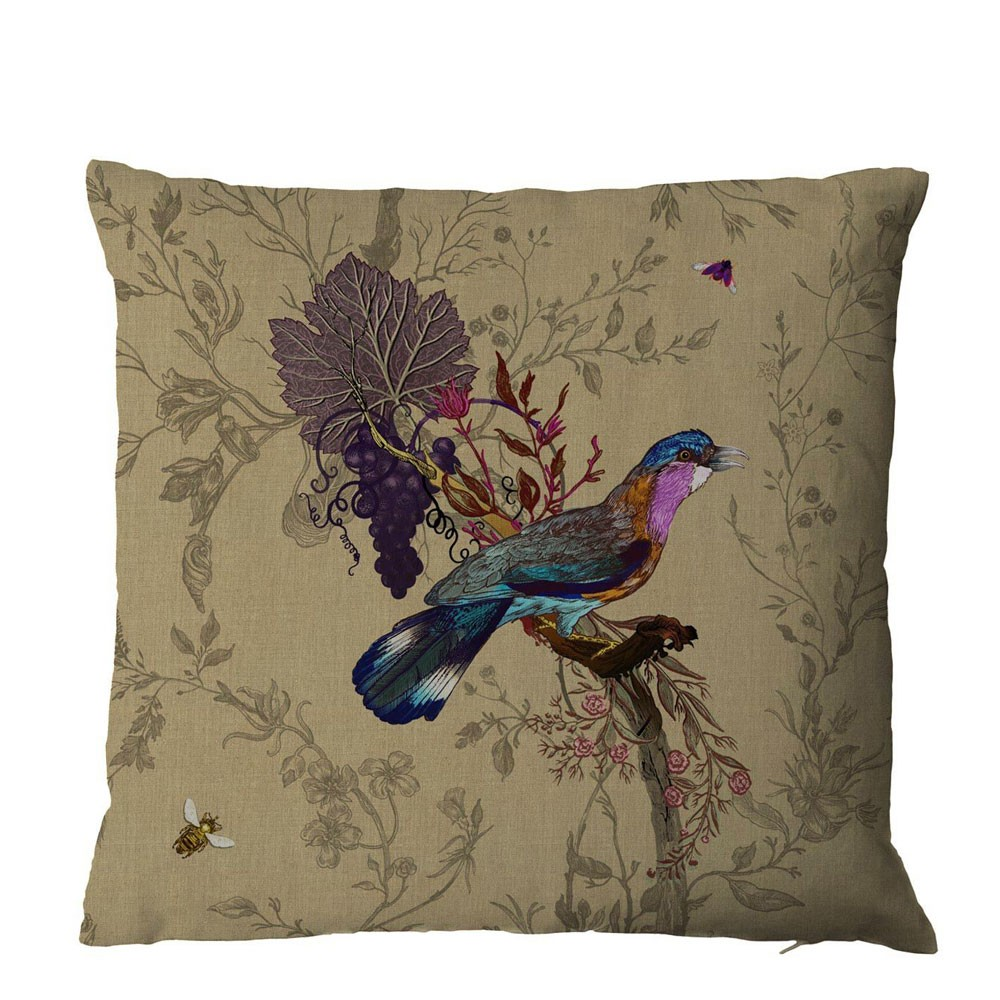 Timorous Beasties Birds n Bees Cushion
