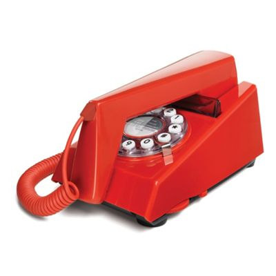 Wild & Wolf Red 'Trim' corded phone