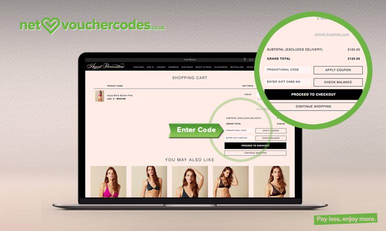 Enjoy upto 70% Off Agentprovocateur.com Discount
