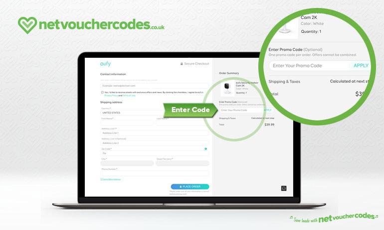 Where to enter your Eufy code
