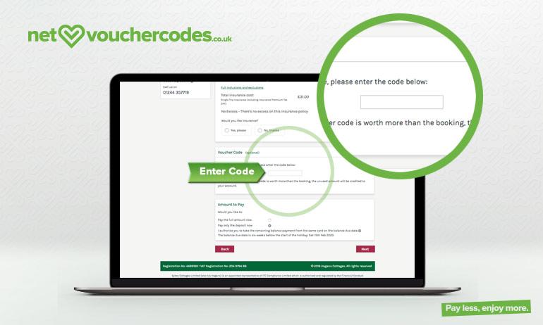 Where to enter your Hogans Cottages voucher code
