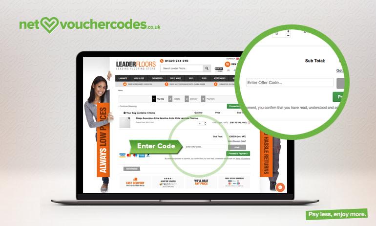 leader floors where to enter code
