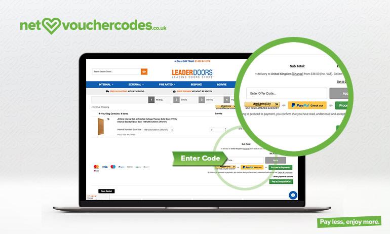 leaderdoors where to enter code
