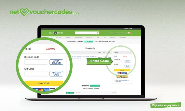 techtrade where to enter code
