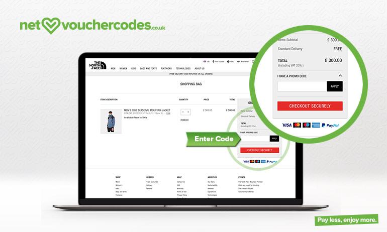 eaf03159cd THE NORTH FACE Voucher Codes 2019 → 10% OFF   Net Voucher Codes