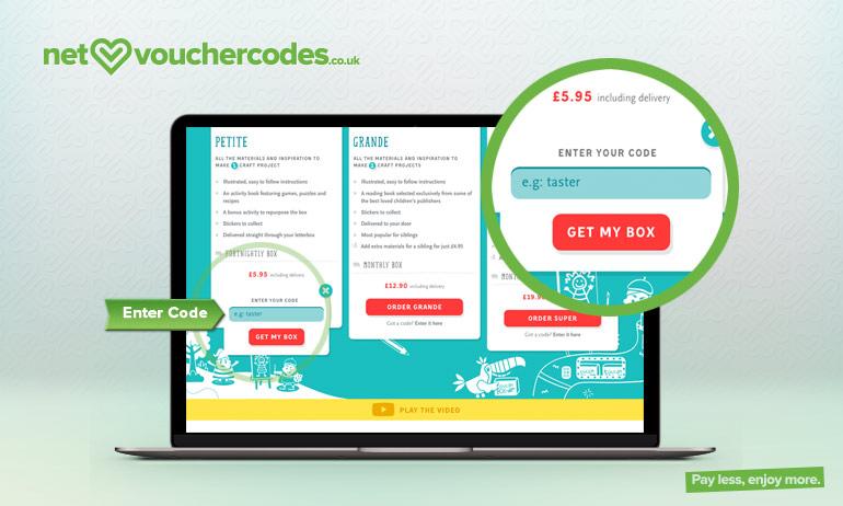 toucan box where to enter code