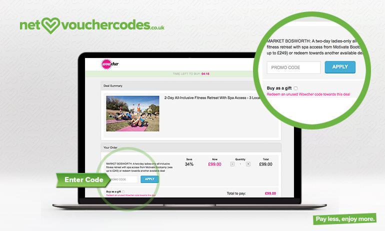 wowcher where to enter code