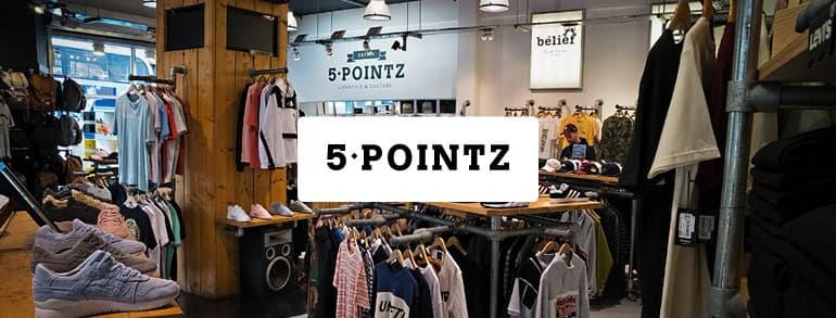 5 Pointz Discount Codes 2020