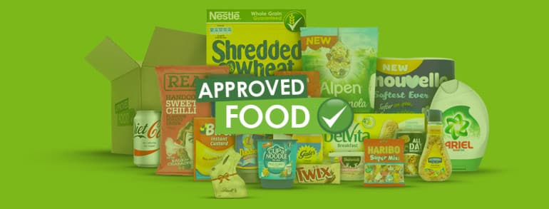 Approved Food Discount Codes 2020