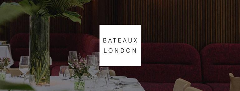 Bateaux London Discount Codes 2020