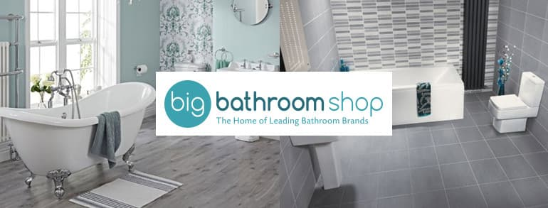 Big Bathroom Shop Discount Codes 2021