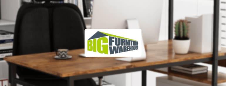 Big Furniture Warehouse Discount Codes 2021