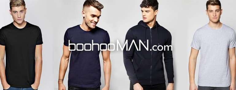 boohooMAN Promotion Codes 2019