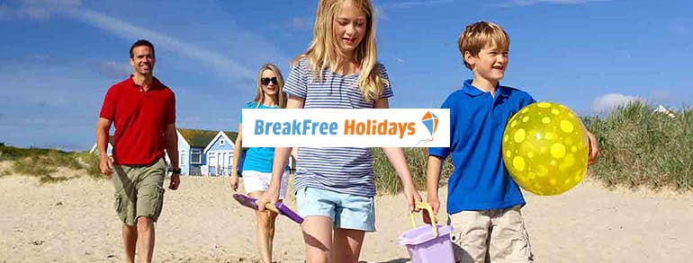 BreakFree Holidays Voucher Codes 2020 / 2021