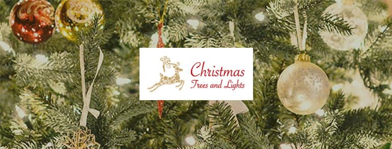 Christmas Trees and Lights Discount Codes 2020