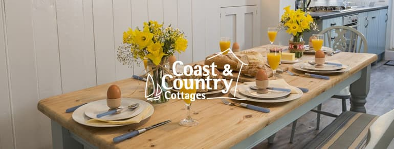Coast and Country Cottages Promotional Codes 2018