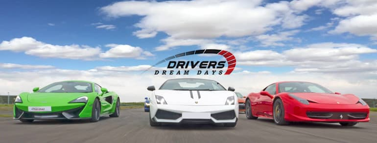 Drivers Dream Days  Discount Codes 2018