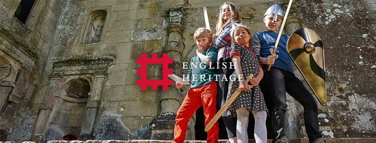 English Heritage Voucher Codes 2018