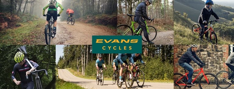 Evans Cycles Promo Codes 2019
