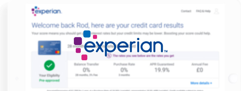 Experian Discount Codes 2020