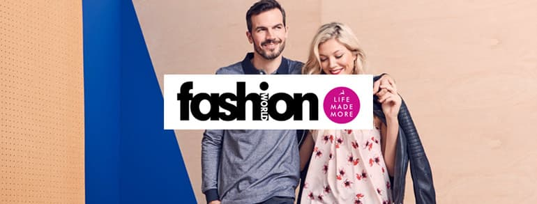 Fashion World Discount Codes 2018