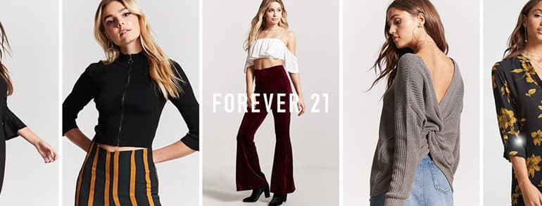 Forever 21 Promotion Codes 2018