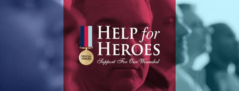 Help for Heroes Discount Codes 2020