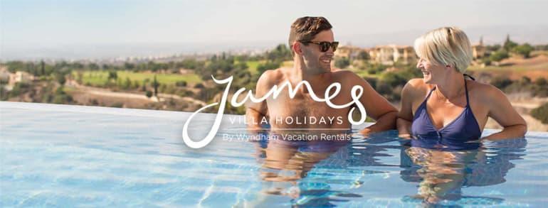 James Villa Holidays Voucher Codes 2018