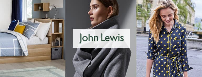 John Lewis Promotional Codes 2018
