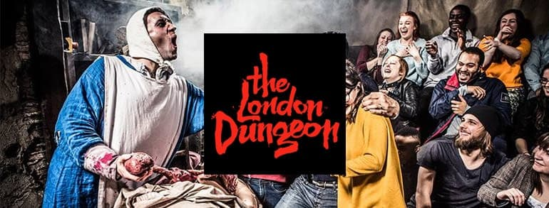 London Dungeons Discount Codes 2020