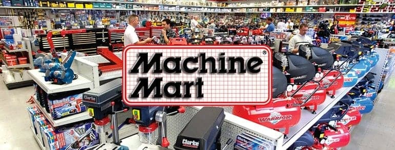 Machine Mart Voucher Codes 2018