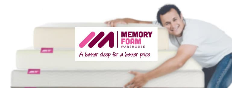Memory Foam Warehouse Discount Codes 2021
