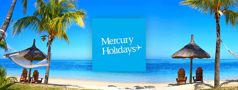 Mercury Holidays Promo Codes 2020
