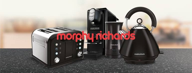 Morphy Richards Discount Codes 2021