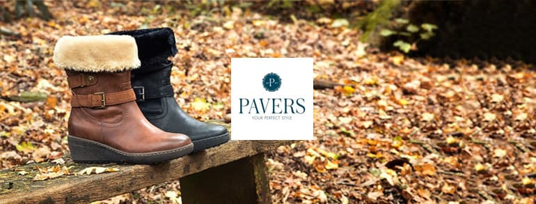 Pavers Voucher Codes 2020
