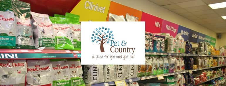 Pet and Country Voucher Codes 2020